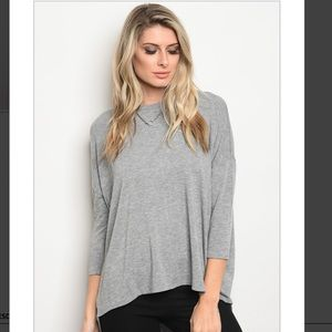So soft Gray Knit top